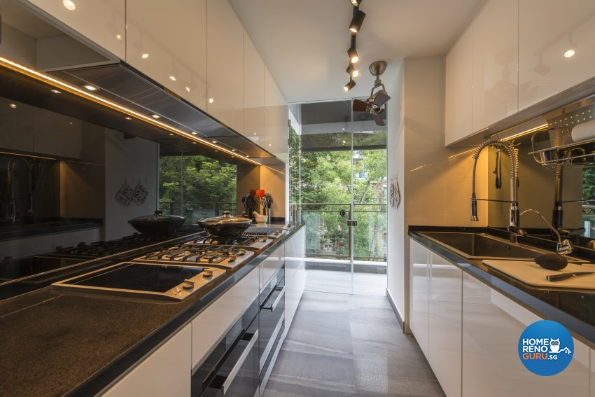 Modern Design - Kitchen - Condominium - Design by Meter Square Pte Ltd