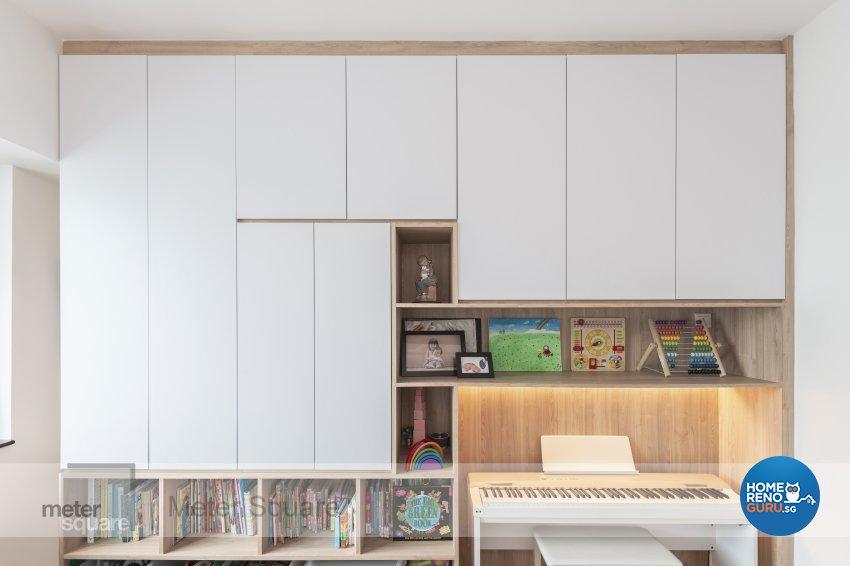 Modern, Scandinavian Design - Bedroom - Condominium - Design by Meter Square Pte Ltd
