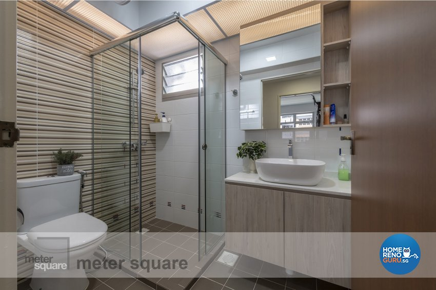 Contemporary, Minimalist Design - Bathroom - HDB 5 Room - Design by Meter Square Pte Ltd