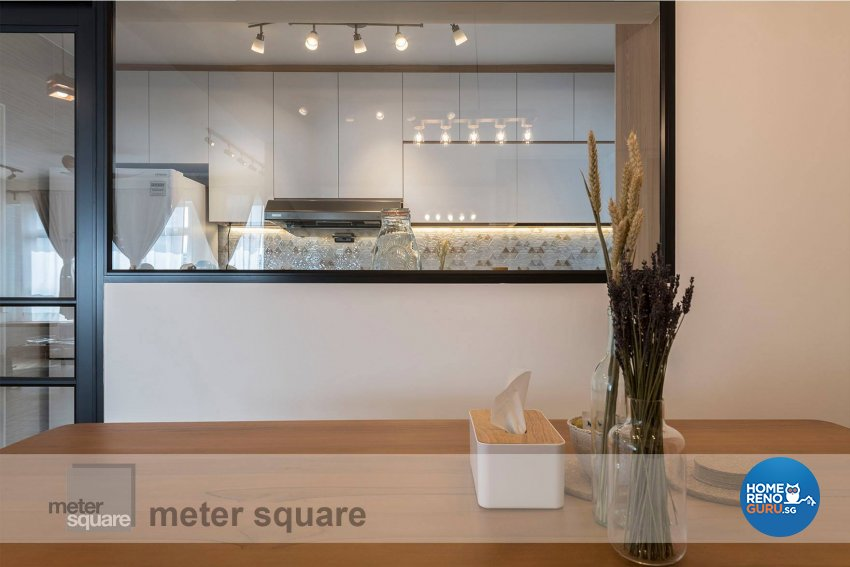 Minimalist, Scandinavian Design - Dining Room - HDB 5 Room - Design by Meter Square Pte Ltd