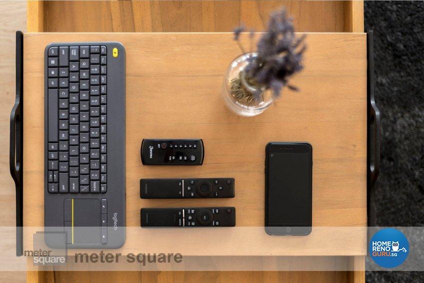 Minimalist, Scandinavian Design - Living Room - HDB 5 Room - Design by Meter Square Pte Ltd