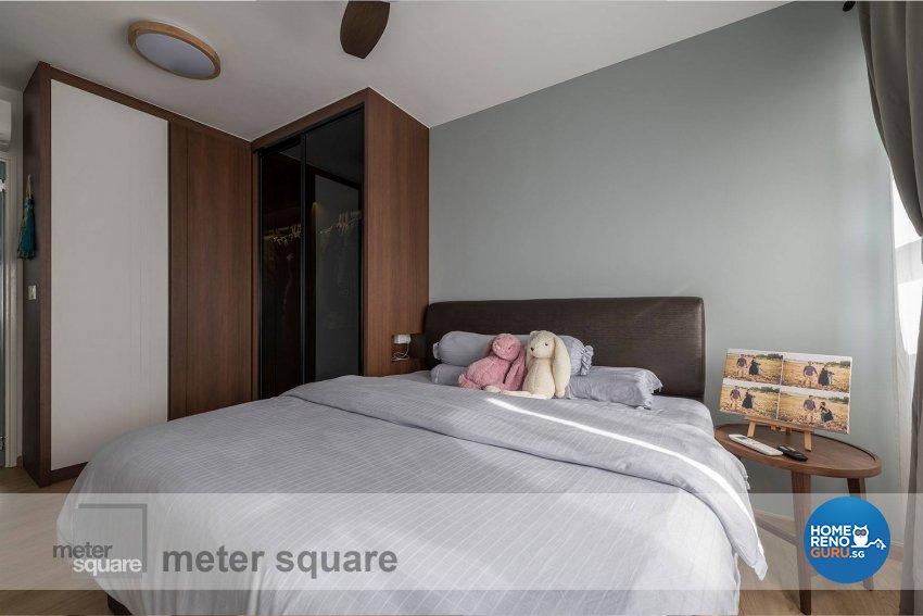 Minimalist, Scandinavian Design - Bedroom - HDB 5 Room - Design by Meter Square Pte Ltd