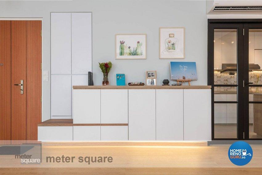 Minimalist, Scandinavian Design - Dining Room - HDB 5 Room - Design by Meter Square Pte Ltd