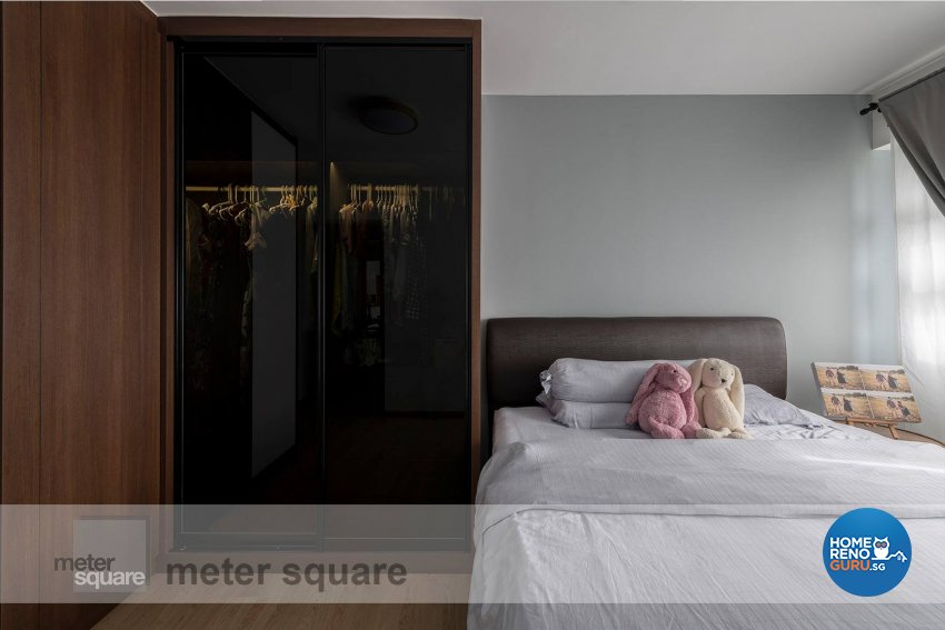 Minimalist, Scandinavian Design - Bedroom - HDB 5 Room - Design by Meter Square Pte Ltd