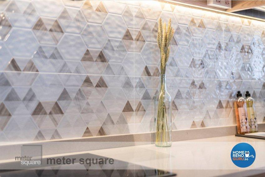 Minimalist, Scandinavian Design - Kitchen - HDB 5 Room - Design by Meter Square Pte Ltd