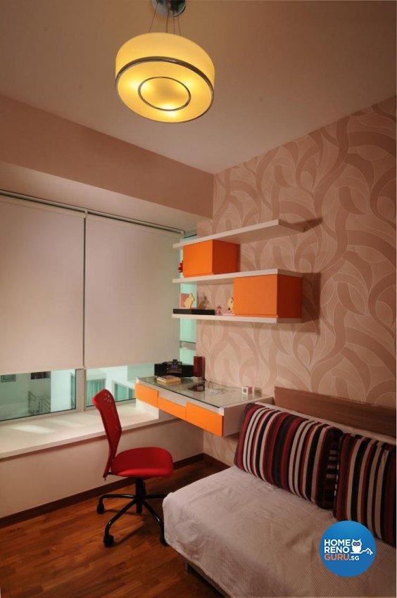 Modern, Tropical Design - Study Room - Condominium - Design by Meter Square Pte Ltd