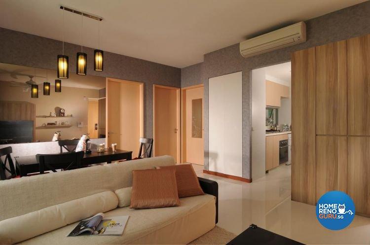 Modern, Tropical Design - Living Room - Condominium - Design by Meter Square Pte Ltd