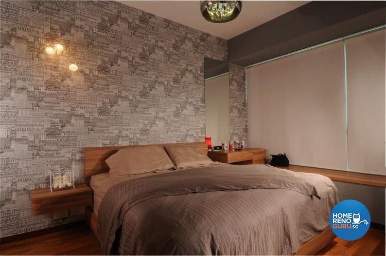 Modern, Tropical Design - Bedroom - Condominium - Design by Meter Square Pte Ltd