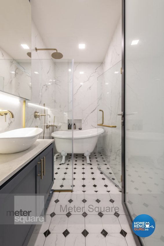 Classical, Modern, Others Design - Bathroom - Condominium - Design by Meter Square Pte Ltd