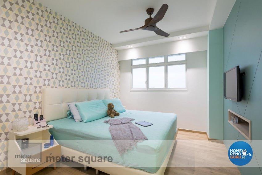 Scandinavian Design - Bedroom - HDB 4 Room - Design by Meter Square Pte Ltd