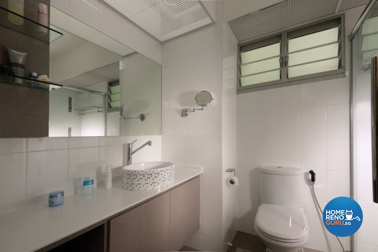 Contemporary, Modern Design - Bathroom - HDB 5 Room - Design by Meter Square Pte Ltd