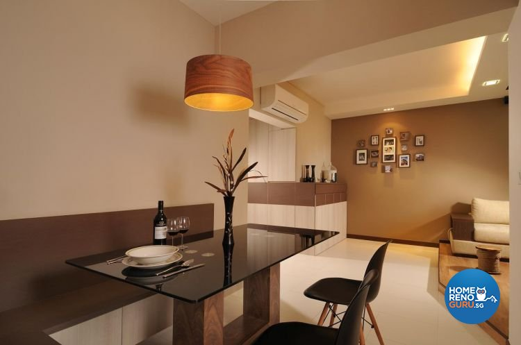 Contemporary, Resort, Tropical Design - Dining Room - HDB 5 Room - Design by Meter Square Pte Ltd