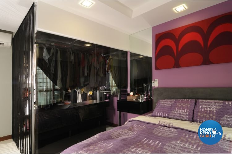 Modern, Retro Design - Bedroom - HDB 5 Room - Design by Meter Square Pte Ltd
