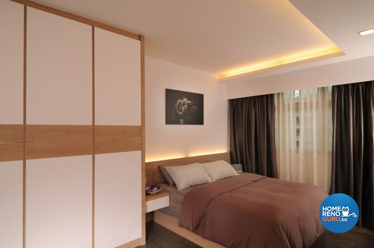 Contemporary, Minimalist, Scandinavian Design - Bedroom - HDB 5 Room - Design by Meter Square Pte Ltd