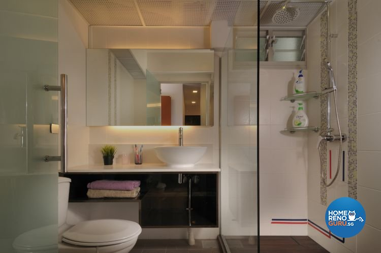 Contemporary, Minimalist, Scandinavian Design - Bathroom - HDB 5 Room - Design by Meter Square Pte Ltd