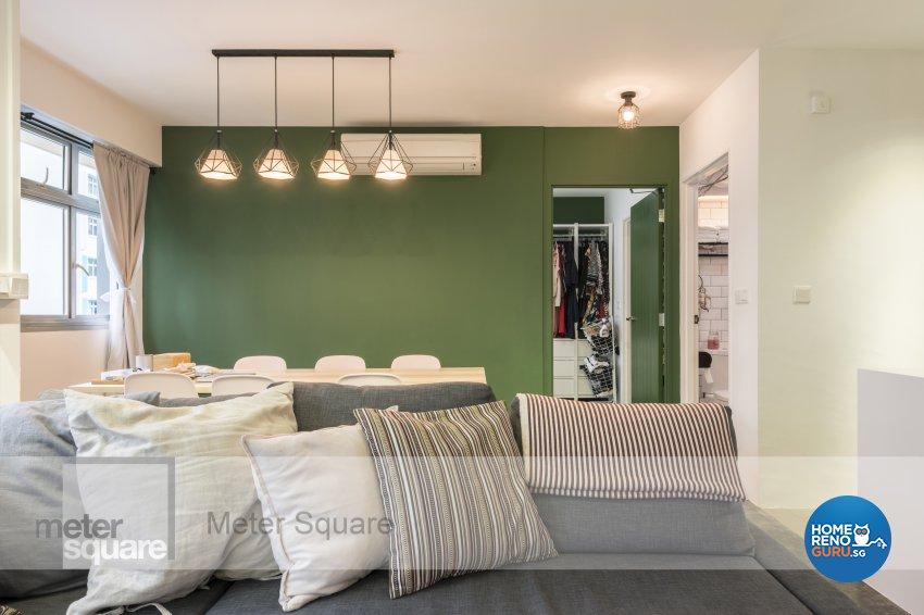 Modern, Vintage Design - Dining Room - HDB 3 Room - Design by Meter Square Pte Ltd