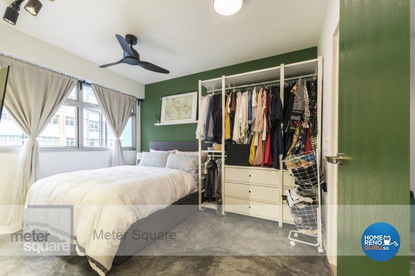 Modern, Vintage Design - Bedroom - HDB 3 Room - Design by Meter Square Pte Ltd