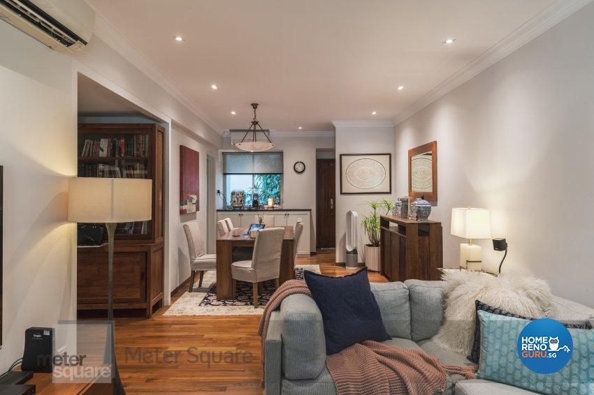 Classical, Modern Design - Living Room - Condominium - Design by Meter Square Pte Ltd