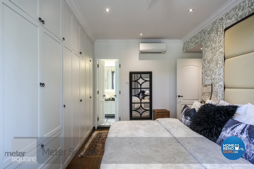 Classical, Modern Design - Bedroom - Condominium - Design by Meter Square Pte Ltd