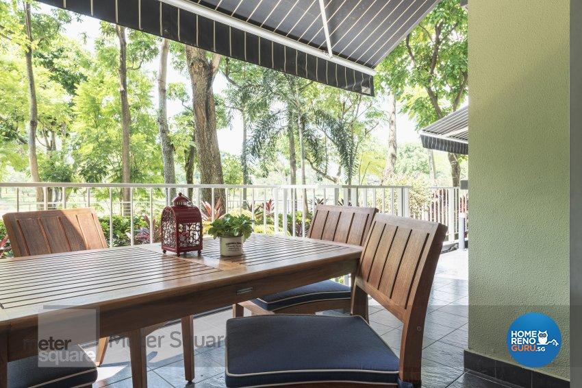 Classical, Modern Design - Garden - Condominium - Design by Meter Square Pte Ltd