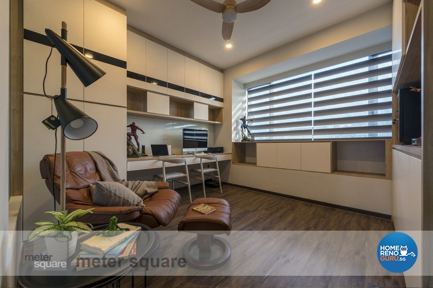 Classical, Contemporary Design - Study Room - Condominium - Design by Meter Square Pte Ltd