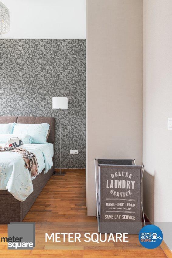 Modern, Oriental Design - Bedroom - Condominium - Design by Meter Square Pte Ltd