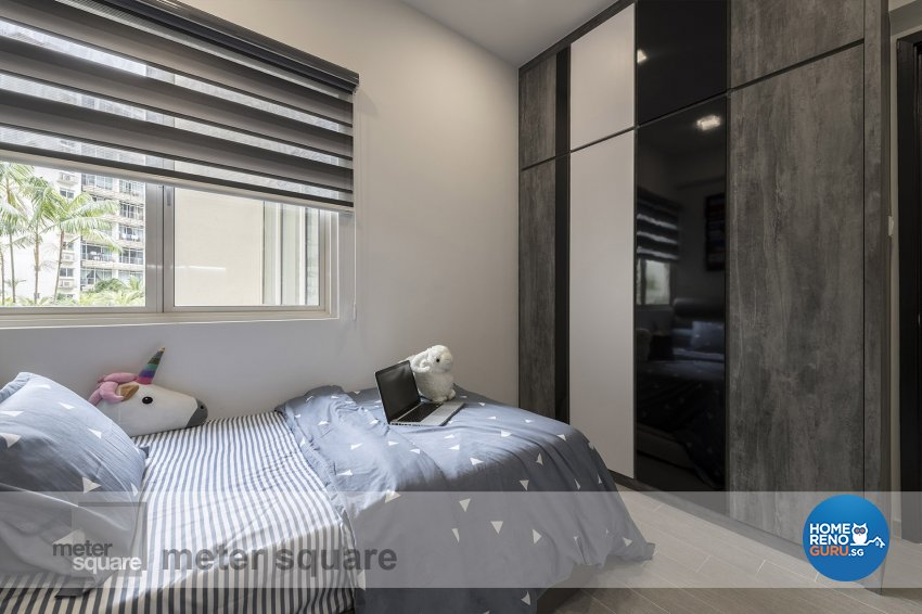 Contemporary, Modern Design - Bedroom - Condominium - Design by Meter Square Pte Ltd