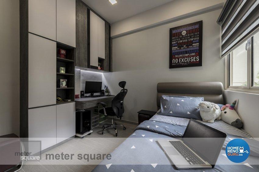 Contemporary, Modern Design - Bedroom - Condominium - Design by Meter Square Pte Ltd