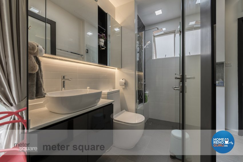 Contemporary, Modern Design - Bathroom - Condominium - Design by Meter Square Pte Ltd