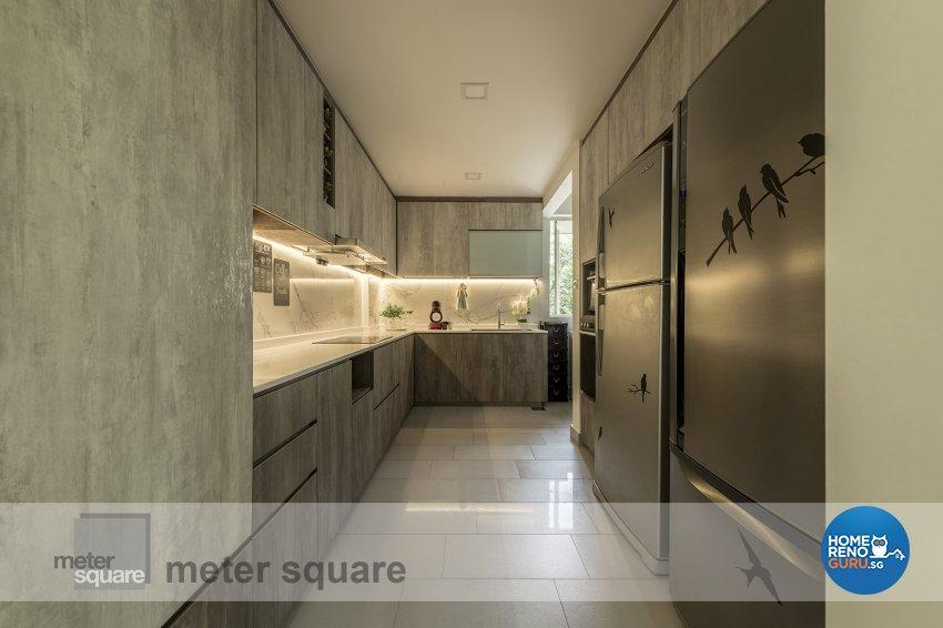 Contemporary, Modern Design - Kitchen - Condominium - Design by Meter Square Pte Ltd
