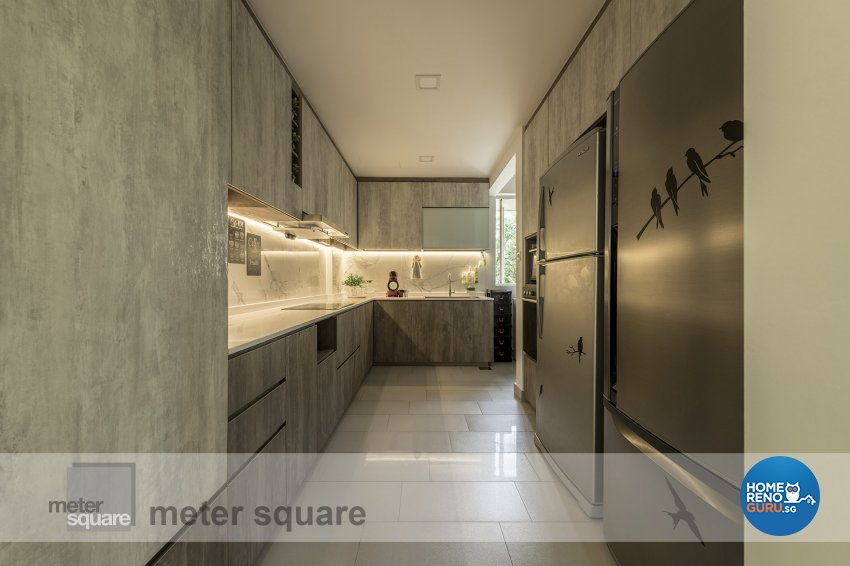 Contemporary, Modern Design - Kitchen - Condominium - Design by Meter Square Pte Ltd