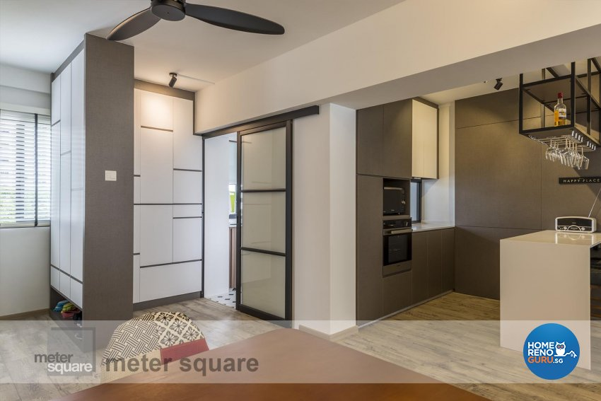 Contemporary Design - Kitchen - HDB 5 Room - Design by Meter Square Pte Ltd