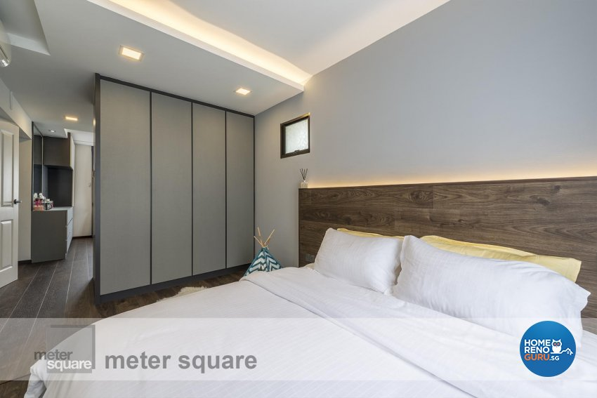 Contemporary Design - Bedroom - HDB 5 Room - Design by Meter Square Pte Ltd