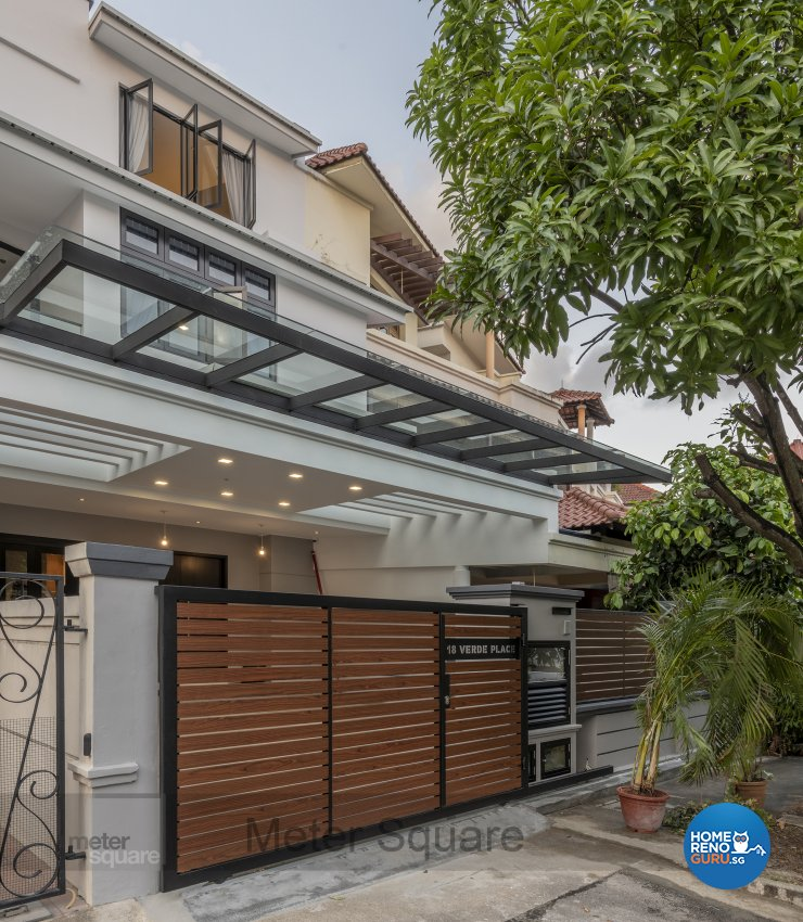 Contemporary, Modern Design - Garden - Landed House - Design by Meter Square Pte Ltd