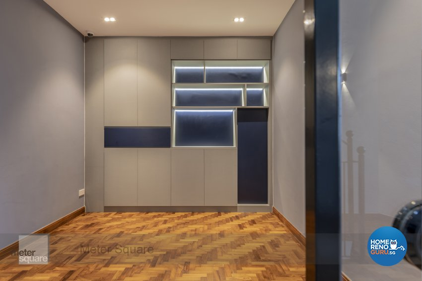Contemporary, Modern Design - Entertainment Room - Landed House - Design by Meter Square Pte Ltd