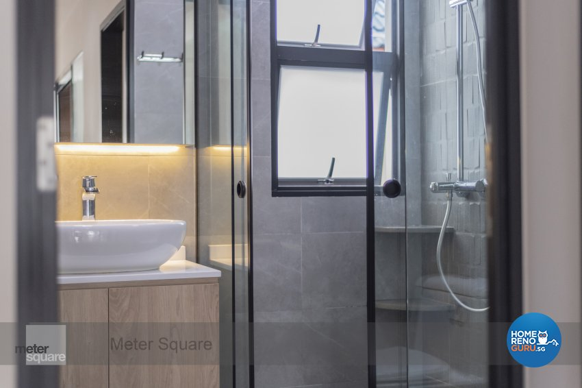 Contemporary, Modern Design - Bathroom - Landed House - Design by Meter Square Pte Ltd