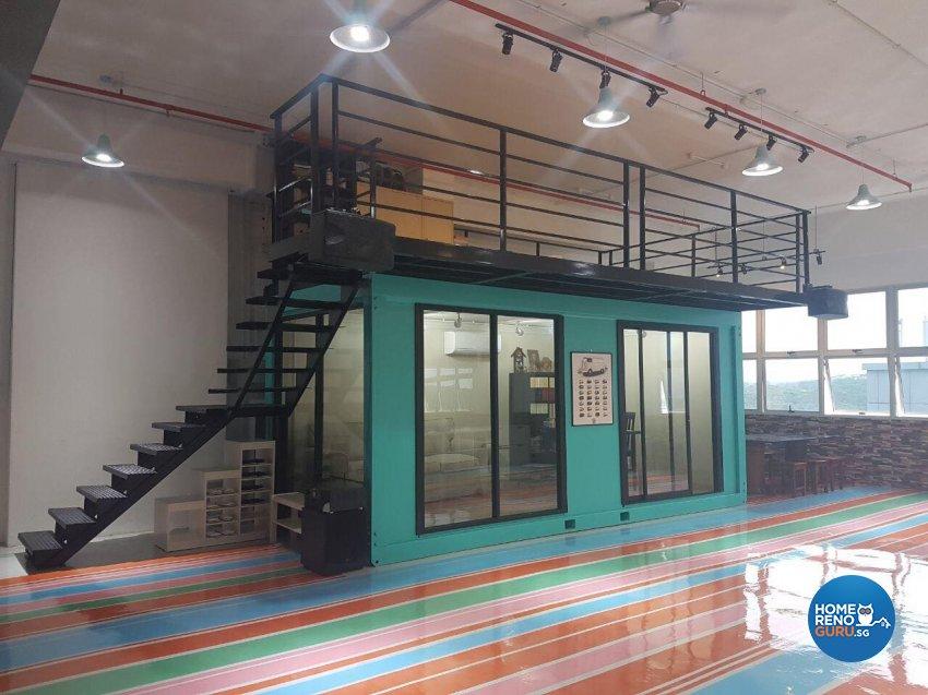 Retro Design - Commercial - Office - Design by Meter Square Pte Ltd