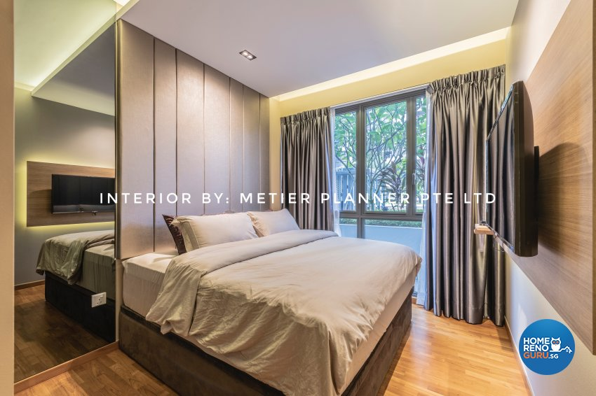 Contemporary, Modern, Resort Design - Bedroom - Condominium - Design by Metier Planner Pte Ltd
