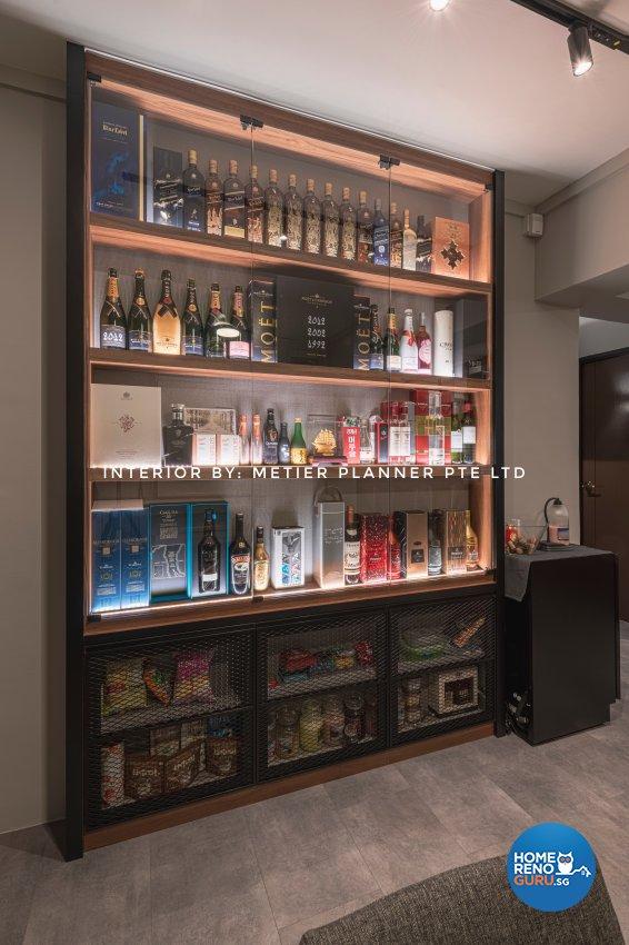 Industrial, Modern, Rustic Design - Dining Room - HDB 4 Room - Design by Metier Planner Pte Ltd