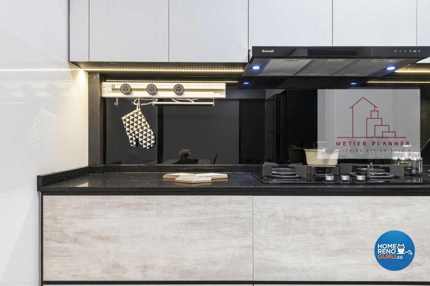 Contemporary, Minimalist, Modern Design - Kitchen - HDB 4 Room - Design by Metier Planner Pte Ltd
