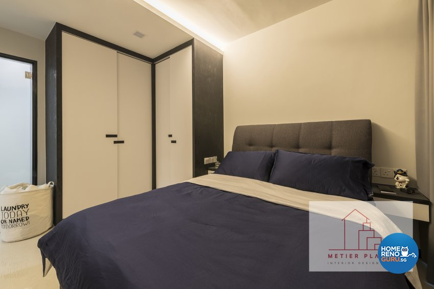 Contemporary, Minimalist, Modern Design - Bedroom - HDB 4 Room - Design by Metier Planner Pte Ltd