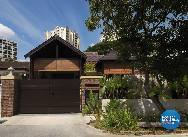 Resort, Tropical Design - Garden - Landed House - Design by Milan Interior Design Pte Ltd