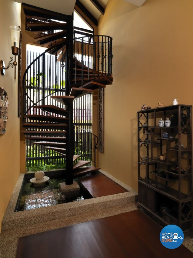 Resort, Tropical Design - Living Room - Landed House - Design by Milan Interior Design Pte Ltd