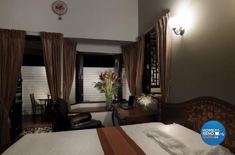 Resort, Tropical Design - Bedroom - Landed House - Design by Milan Interior Design Pte Ltd