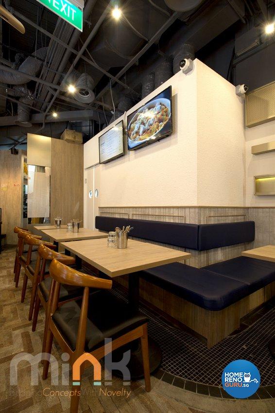 Contemporary, Modern Design - Commercial - F&B - Design by MINK DESIGN PTE LTD