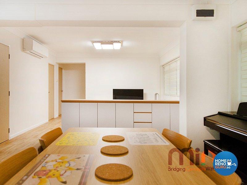 Industrial, Others Design - Dining Room - HDB 4 Room - Design by MINK DESIGN PTE LTD