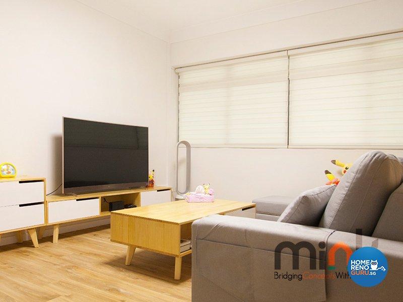 Industrial, Others Design - Living Room - HDB 4 Room - Design by MINK DESIGN PTE LTD