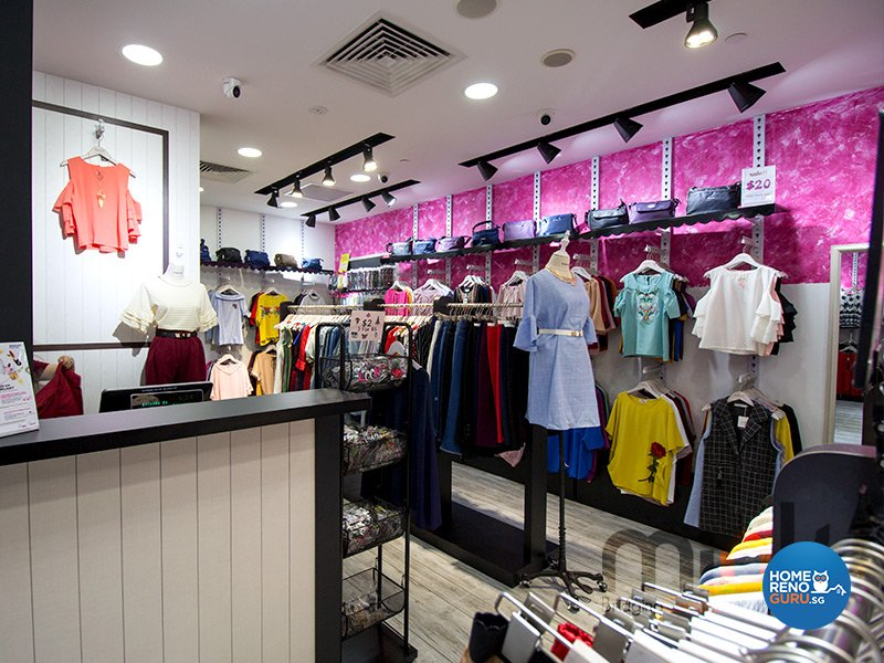 Modern Design - Commercial - Retail - Design by MINK DESIGN PTE LTD