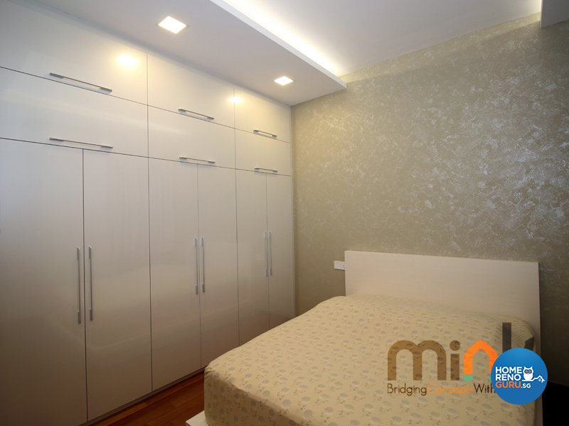 Minimalist, Modern Design - Bedroom - Condominium - Design by MINK DESIGN PTE LTD