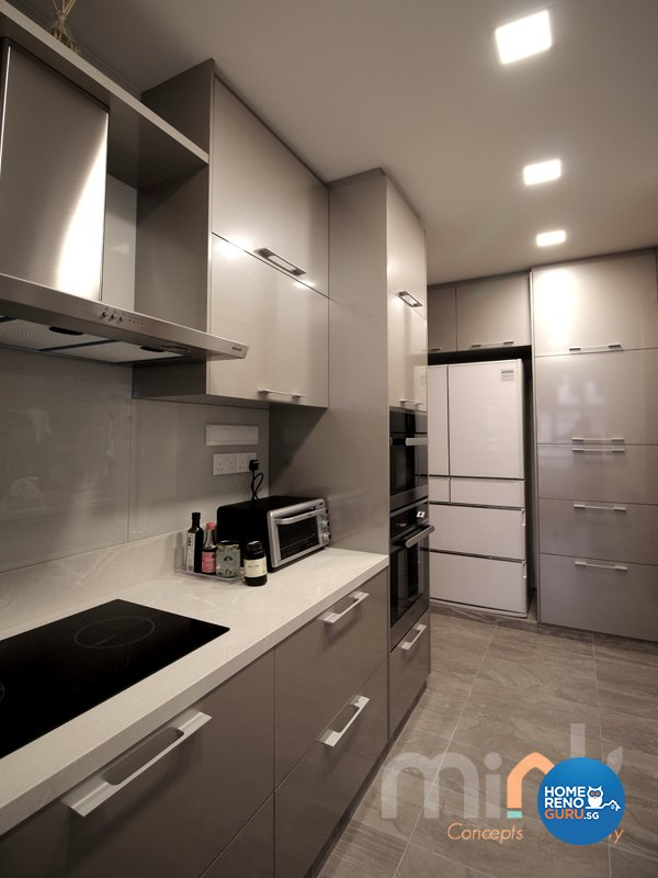 Minimalist, Modern Design - Kitchen - Condominium - Design by MINK DESIGN PTE LTD